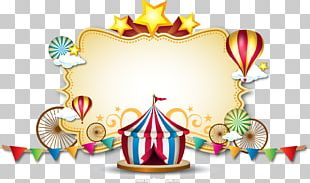 Circus Spectacle Clown Party PNG