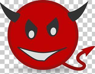 Smiley Emoticon Emoji Devil PNG