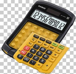 Calculator Office Supplies Casio Solar Energy PNG