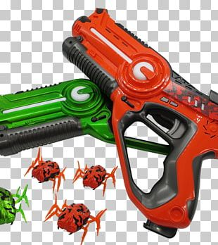 Laser Tag Game Renting Firearm PNG