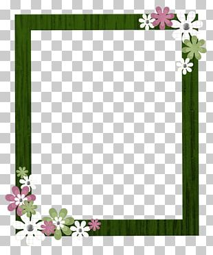 Border Flowers Borders And Frames Frames PNG