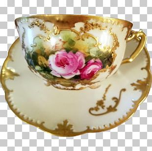 Coffee Cup Saucer Porcelain Teacup PNG