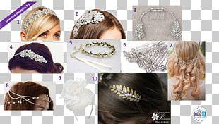 Long Hair Headpiece Hairstyle Headband Bun PNG