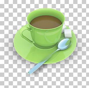 Cup Tea Coffee Cutlery PNG