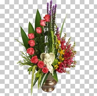 Cut Flowers Floristry Flower Bouquet Floral Design PNG
