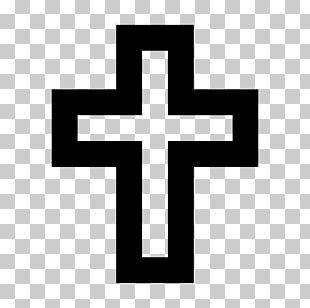 Emoji Christian Cross Symbol Sun Cross PNG