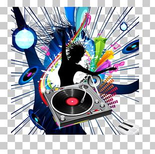 Music Poster Graphic Design Disc Jockey PNG