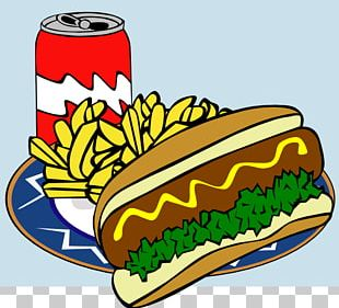 Hamburger Hot Dog French Fries Chicken Nugget Fast Food PNG