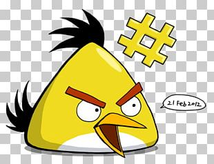 Yellow Angry Birds PNG