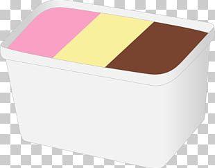 Chocolate Ice Cream Milk Box PNG