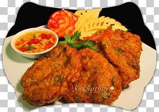 Fried Chicken Pakora Thai Cuisine Pakistani Cuisine Schnitzel PNG