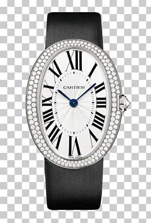 Cartier Tank Watch Diamond Brilliant PNG