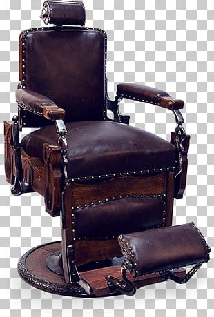 Barber Chair Antique Furniture PNG