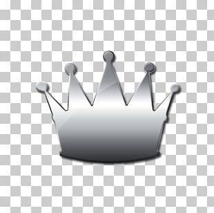 Crown Computer Icons Silver PNG