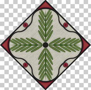 Christmas Ornament Green Symbol Pattern PNG