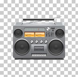 Radio Broadcasting Radio Broadcasting Boombox PNG
