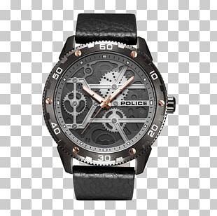Amazon.com Watch Police Quartz Clock PNG