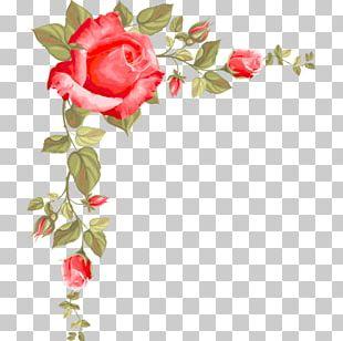 Paper Rose Flower PNG