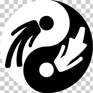Yin And Yang Gender Symbol Female PNG