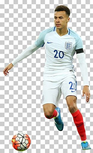 Dele Alli England National Football Team Soccer Player Rendering PNG