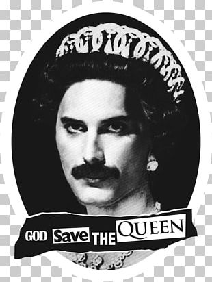 Freddie Mercury T-shirt God Save The Queen PNG