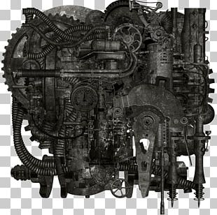 Industrial Revolution Steam Engine Steampunk PNG
