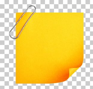 Paper Post-it Note PNG