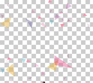 Paper Triangle Point Pattern PNG