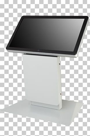 Computer Monitors Touchscreen Kiosk Digital Signs Display Device PNG