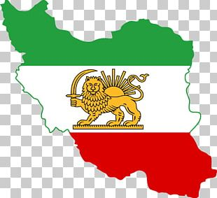 Greater Iran Flag Of Iran Map PNG