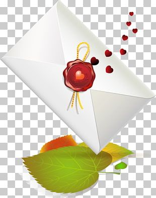 Valentine's Day Love Letter PNG