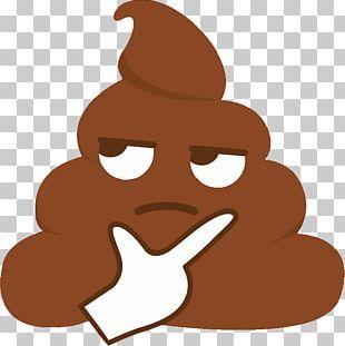 Sticker Feces Pile Of Poo Emoji PNG