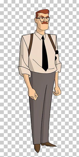 Commissioner Gordon Batman Lucius Fox Cartoon PNG