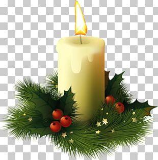David Richmond Christmas Decoration Candle PNG