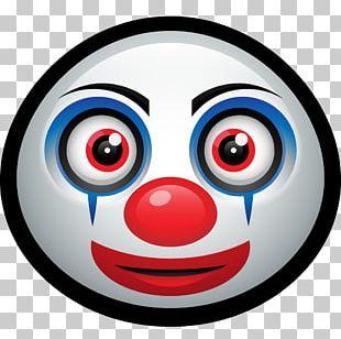 Clown Smiley Computer Icons Emoticon Emoji PNG
