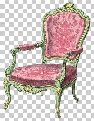 Furniture Chair Couch Rococo Decorative Arts PNG