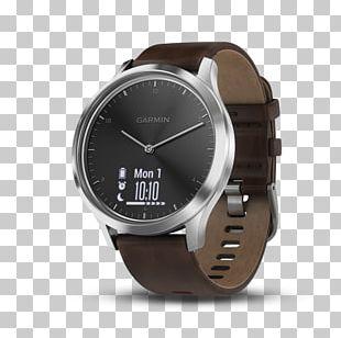 Garmin Vívomove HR Garmin Ltd. Smartwatch GPS Watch Silver PNG