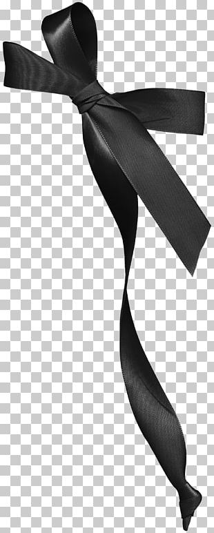 Black And White Ribbon PNG