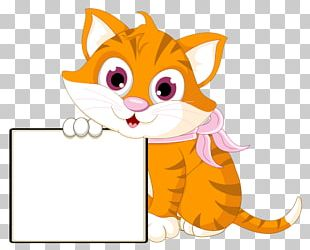 Cat Kitten Graphics Drawing PNG
