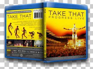 Progress Live Take That DVD Book Brand PNG