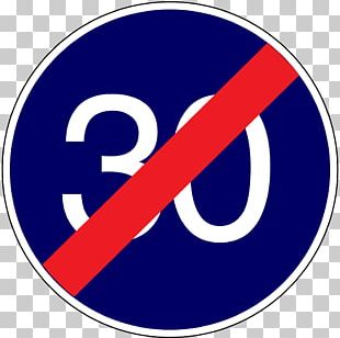 30 Km/h Zone Traffic Sign Speed Limit PNG