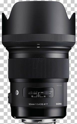 Sigma 50mm F/1.4 DG HSM A Lens Canon EF Lens Mount Camera Lens Sigma Corporation Sigma 30mm F/1.4 EX DC HSM Lens PNG
