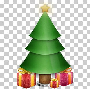 Santa Claus Christmas Tree Gift Computer Icons PNG