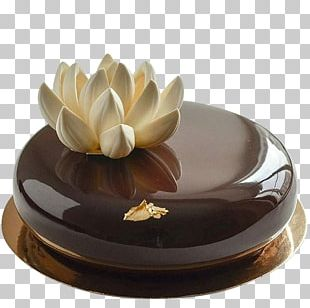 Chocolate Cake Torte Icing Mousse Petit Four PNG