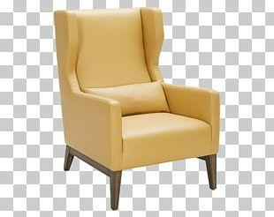 Club Chair Furniture Eames Lounge Chair Swivel Chair PNG