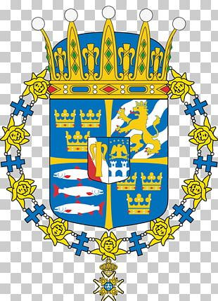 Coat Of Arms Of Sweden Swedish Royal Family Coat Of Arms Of Sweden House Of Bernadotte PNG