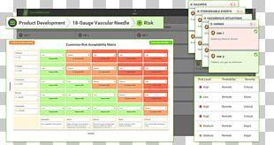 Risk Management Quality Management System Medical Device PNG