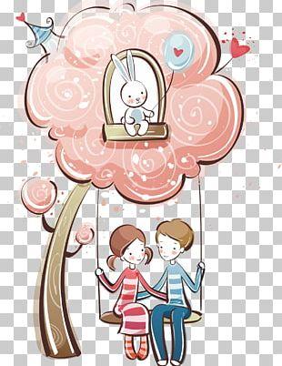 Valentine's Day Cartoon PNG