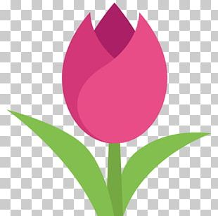 Emoji Text Messaging SMS Flower Tulip PNG