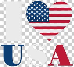 I Love USA PNG